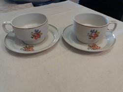 Hollóházi teás csészék