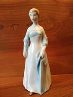 Régi, Ritka ZSOLNAY Figura (29 cm)
