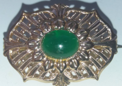 Régi Bross Zöld Kővel
