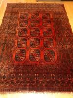 Értékes antik Afgán Kézi Perzsa szőnyeg
