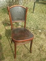 Gyönyörű mintás jelzett thonet szék
