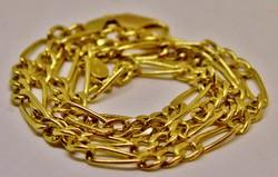 Szép széles 14kt arany nyaklánc 6.28g akció