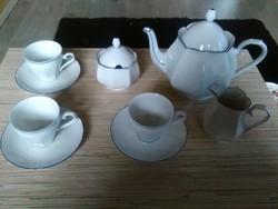 Bavaria porcelán kávés készlet