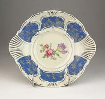 0V514 Régi Bavaria porcelán kínáló tál