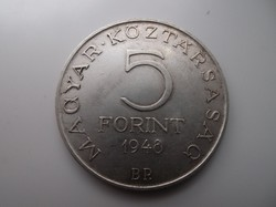 5 forint 1948