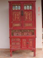 Antik kínai szekrény, Fujian tartományból!