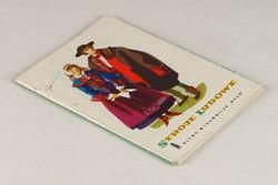 0V495 Lengyel népviseletek színes képeslap 9 db