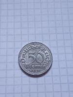 "Szép 50 Pfennig 1920 ""D"" !!"