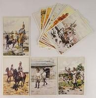 0V491 Treuber-Ottenfeld képeslapok 14 db
