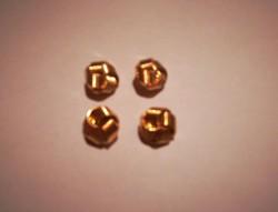Nagyon szép, női ruházati műanyag gombok,aranyszinű,fonott mintás  4 db egyben !
