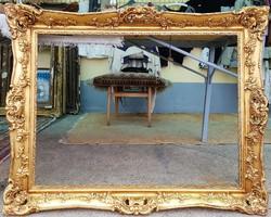 Antik blondel keret restaurált 60x80 cm