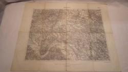 Nógrád és Vácz M. Kir. Állami Térképészet 1917