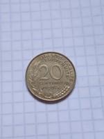 Szép 20 Centimes Franciaország 1964 !