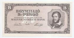 Egymillió Milpengő ( 1000000 ) 1946 UNC Perfekt!