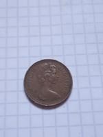 Szép Angol 1 Penny 1971 !    ( 2 )