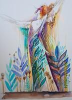 Fairy_garden 2. (40x50cm)