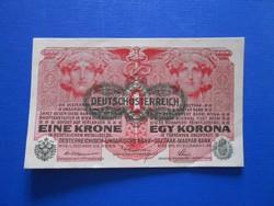 Hajtatlan 1 korona 1916