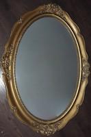 Ovàlis antik tükör  118 x 85 cm