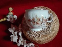 Csésze Bernadotte cseh porcelán nagyméretű hibátlan