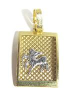Arany horoszkóp medál (Kecs-Au66134)