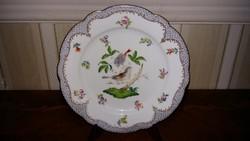 Herendi antik Rothschild mintás  tányér