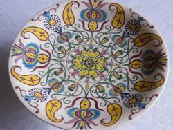 Schütz Cilli antik nagyméretű talpas gyümölcsös tál, torta tál!