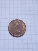 Szép Angol 1 Penny 1971 !