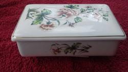Hollóháza porcelán  bonbonier
