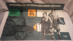 Segítsük az öregeket és a testi fogyatékosságban...plakát Töreky Ferenc
