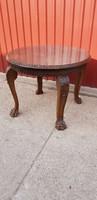Dúsan faragott barokk szalonasztal....eredeti állapotban