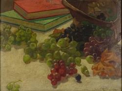 0V603 Ismeretlen festő : Asztali csendélet