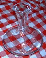 Parádsasvári metszett dekanter üveg 6 pohárral