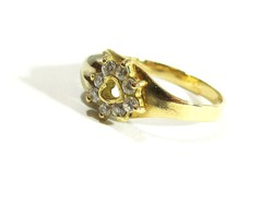 Arany gyűrű(Kecs-Au63985)