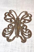 Régi, ritka ékszertartó pillangó