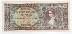 Százezer Pengő ( 100000 ) 1946 EF