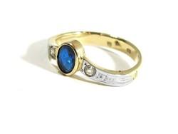 Arany gyűrű(Kecs-Au67512)
