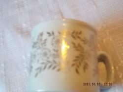 Zsolnay  aranyozott mintás teás csésze