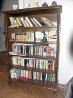 Koloniál könyvszekrény 5 polcos