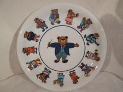 Porcelán tányér - JELZETT - ARZBERG 20 cm alján fotózott lepattanás!