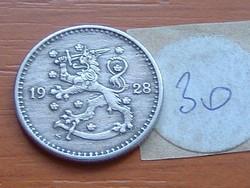 FINNORSZÁG 1 MÁRKA MARKKA 1928 S 30.