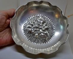 Csodaszép  antik ezüst tál