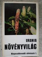 Uránia növényvilág, magasabbrendű növények I.