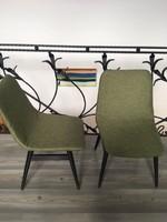2 db újra kárpitozott retro szék
