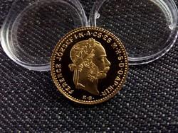 Arany 4 Forint 1892 UNC UV eredeti tanúsítvánnyal