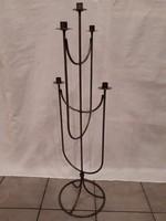 5 ágú fém gyertyatartó, 103 cm magas
