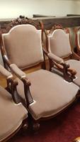 Neorenesans karos szék /ÚJ KÁRPIT /