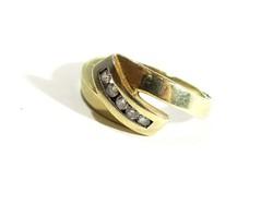Arany gyűrű(Kecs-Au67460)