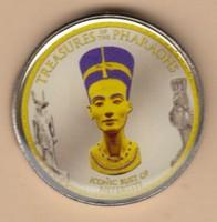 Színes 1 Pound Tutanhamon fáraó Certivel!!!