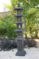 2 m magas bazalt pagoda, japánkerti, keleti, kínai, ázsiai, japán