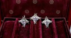 Kivételes ezüst szett